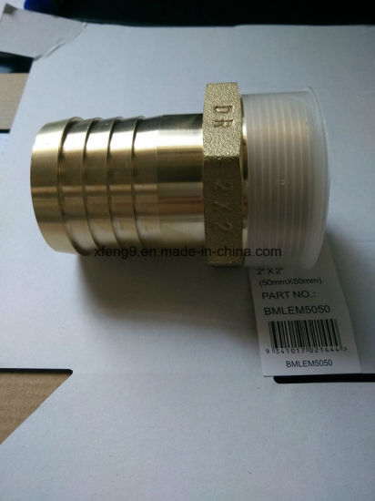2inch Brass Male Hose Barb Adapter Fitting pictures & photos