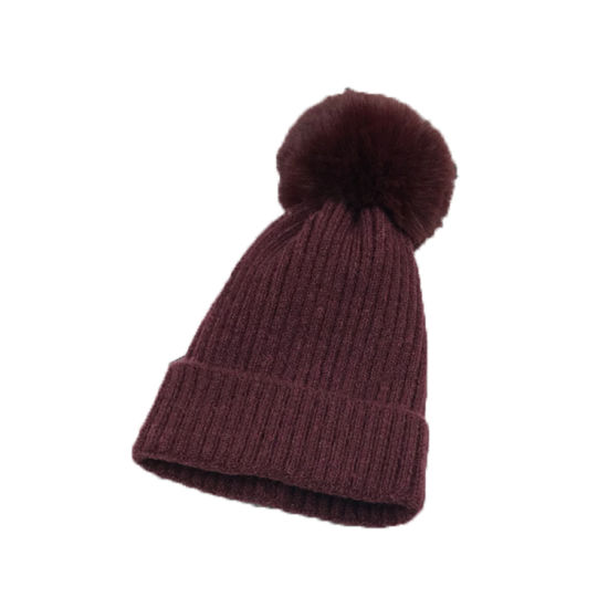 c8f003f0 China 100% Acrylic Winter Hat Knitted Cap Knitted Beanie Hat with ...