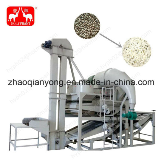 Factory Price UL CSA Hemp Seed Dehulling Machine