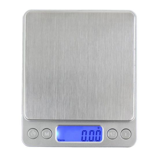 Digital Mini Pocket Stainless Steel Jewelry Electronic Balance Kitchen Scale