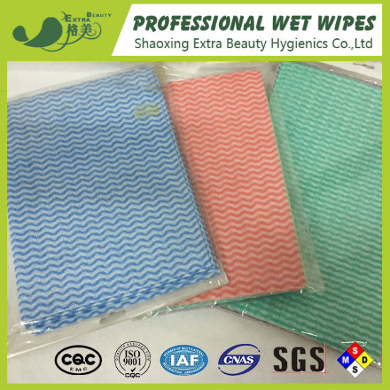 Household Cleaning Wipes Non Woven Textile Furniture Fabric Disposable Products pictures & photos