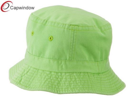 ef2f09db China Promotional Blank Cotton Bucket Hat Fishing Hat for Adults ...