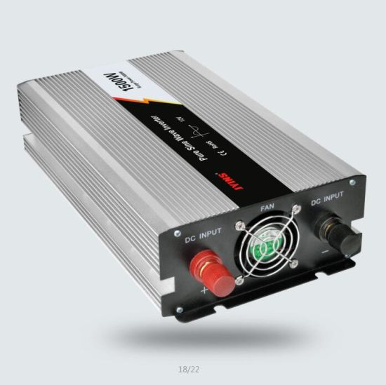 1500W 12V/24V/48VDC to AC110V/220V Pure Sine Wave Power Inverter pictures & photos