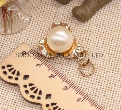 Pearl Bead Rhinestone Zipper Puller DIY Bag Garment Jewelry Accessories