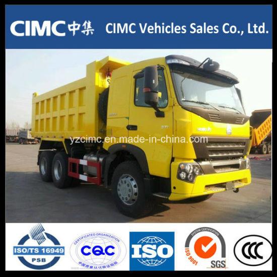 HOWO A7 Type Large Capacity 8X4 Dump Truck