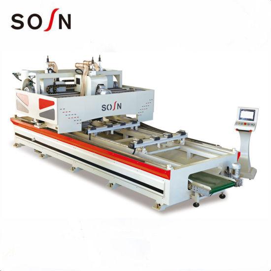 CNC 4 Side Door Frame Edge Cutting Machine