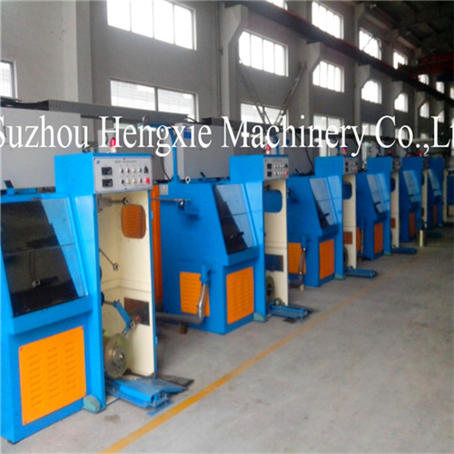 Fine Aluminum Wire Drawing Machine/Copper Wire Drawing Machine Hxe-14ds pictures & photos