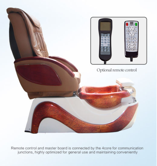 Pedicure SPA Chair Glass Bowl pictures & photos