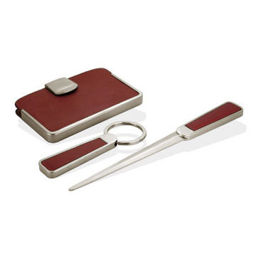Personalize Card Holder and Letter Opener Gift Set (QL-TZ-0091) pictures & photos