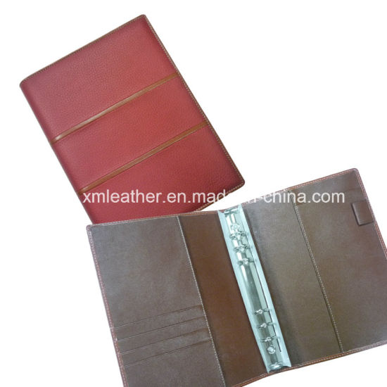 Personalized Embossed A5 PU Leather Notebook Cover