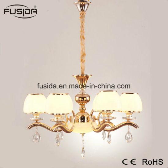 China Luxury Modern Bronze Brass Glass Pendant Light Glass Copper ...