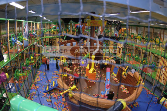 Cheer Amusement Children Indoor Underwater and Pirate Themed Playground pictures & photos