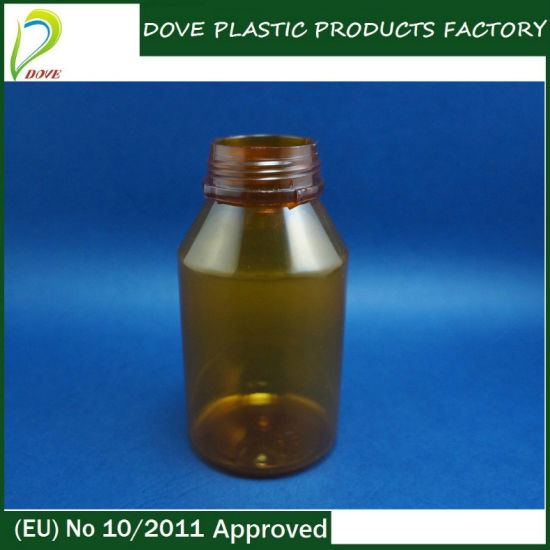 China Medical Plastic Bottle 150ml with Tamper Evident Cap