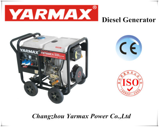 5kVA Yarmax Open Diesel Generator with High Quality pictures & photos