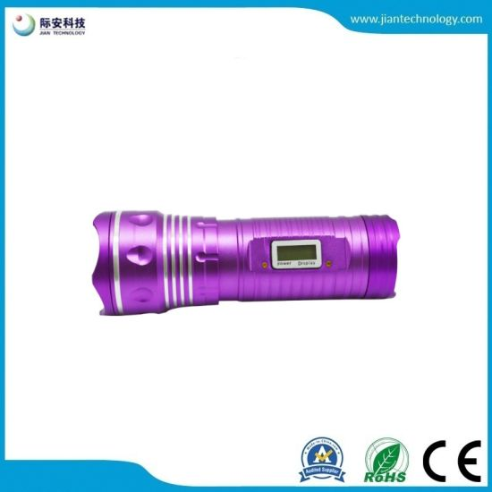 Powerful Double light Camping Rechargeable LED15W Aluminum Factory Direct Fishing Lights Torch pictures & photos