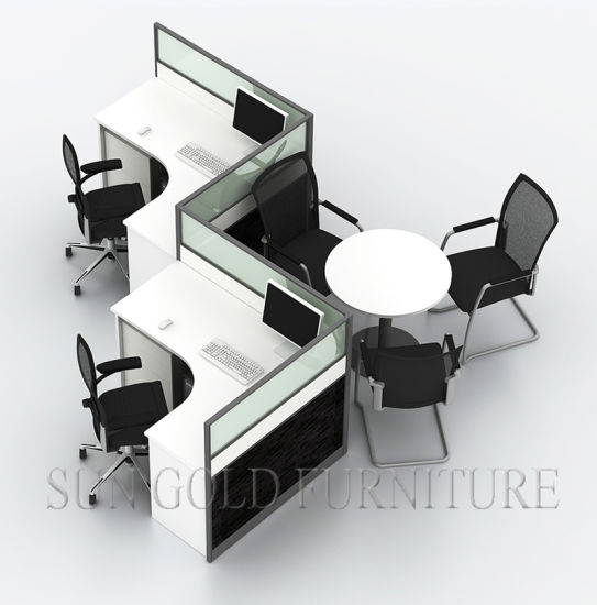 Furniture 2 Person Office Workstation Partition Wall (SZ WS813)