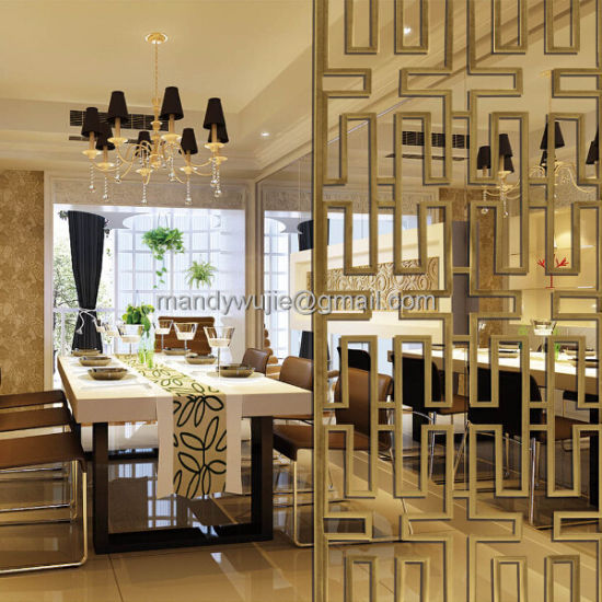 Modern Hotel Folding Screen Partition Devider Stainless Steeldecoration China Stainless Steel Screen And Laser Cut Partition Price Made In China Com