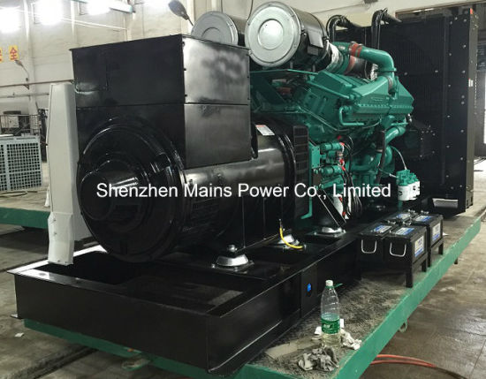 800kw 1000kVA Cummins Diesel Generator Standby Rating 880kw 1100kVA pictures & photos