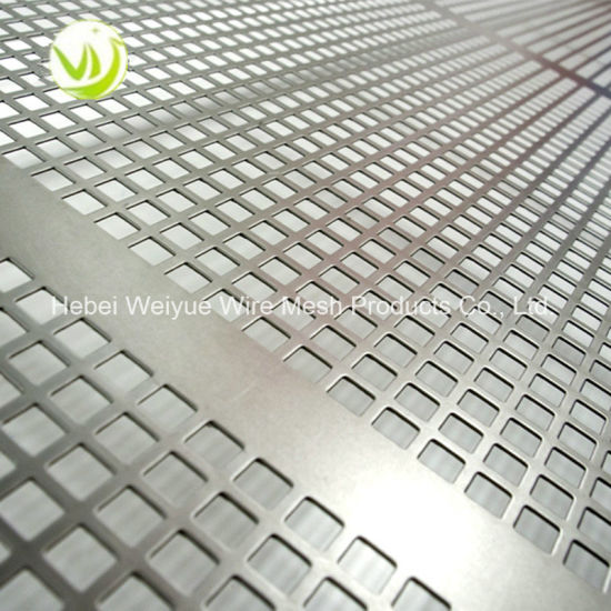 China Stainless Steel Perforated Wire Mesh Sheet/Perforated Metal ...