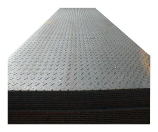 Tear Drop Pattern Ss400 A36 Hot Rolled Carbon Steel Ms Checkered Plate