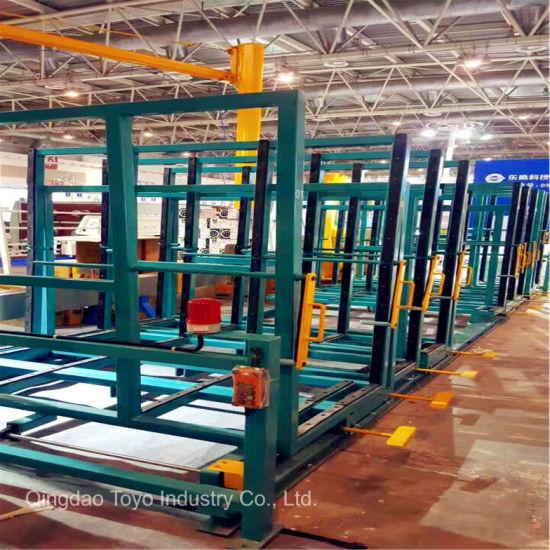 Removable Storage Glass Shelf Specification Storage Rack Metal Transport  Rack For Glass Factory