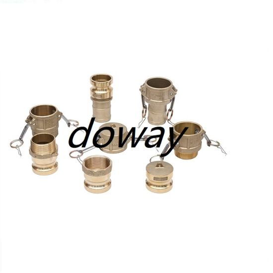 China Factory Wholesale Brass Camlock Quick Fire Hose Coupling