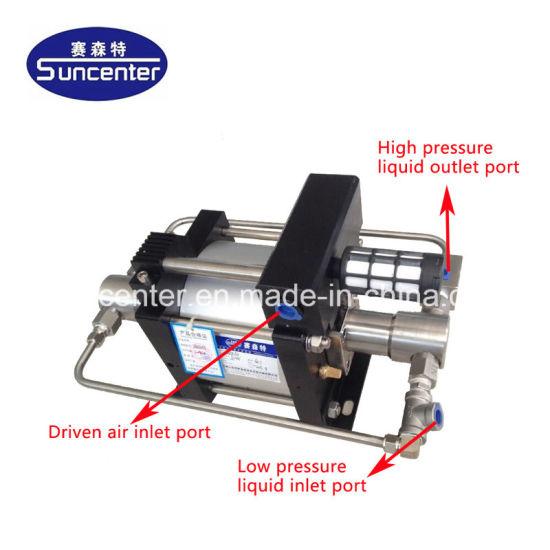 China Suncenter High Pressure Hydrostatic Test Pump - China Hydro