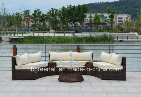 China Diy Modern Rattan Outdoor Hotel Sectional Garden Wicker