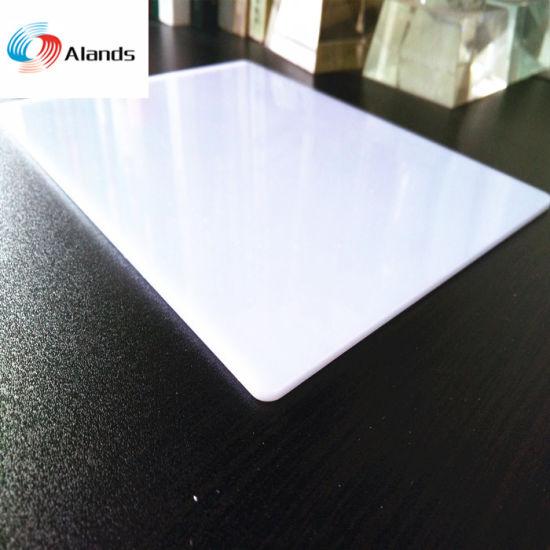 Opal White Acrylic Sheet 3mm Virgin Materials Acrylic Sheet Plexiglass