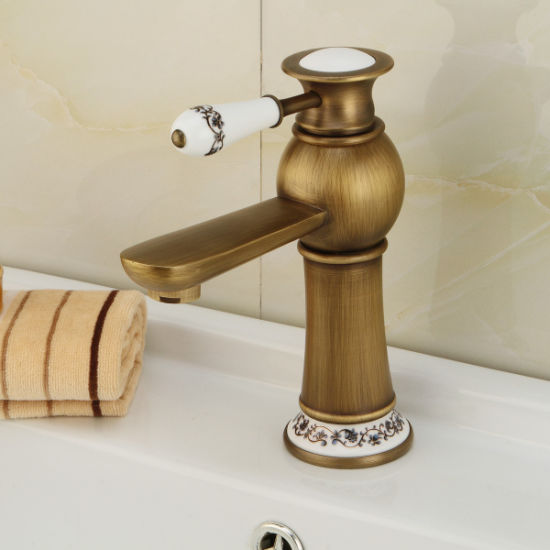 China Hot Sales New Model Archaize Faucet - China Bathroom Wash ...