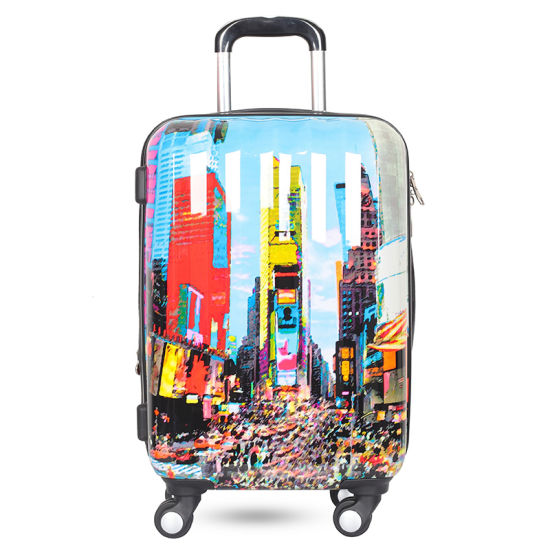 395ab9be5 China Printing PC Trolley Luggage with OEM Service - China Trolley ...