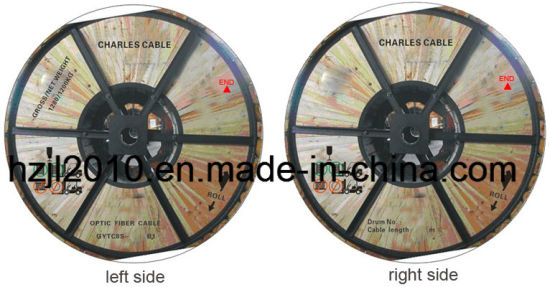 Aerial Self Supporting Fiber Optical Cable Made in China pictures & photos
