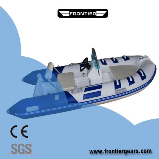 2019 Hypalon/PVC/FRP High Speed Rigid Inflatable Rigid Rib Boat