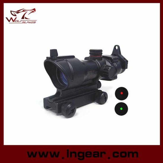 Acog Type 1X30 Red and Green DOT Sight Scope