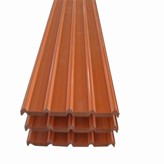 Prepainted Galvanized PPGI Color Coated Corrugated Steel Roofing Sheet
