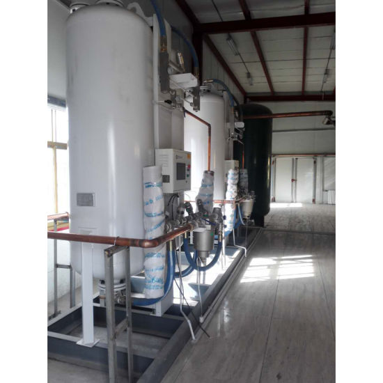 China Etr Medical Oxygen Generator System with Oxygen Gas Filling