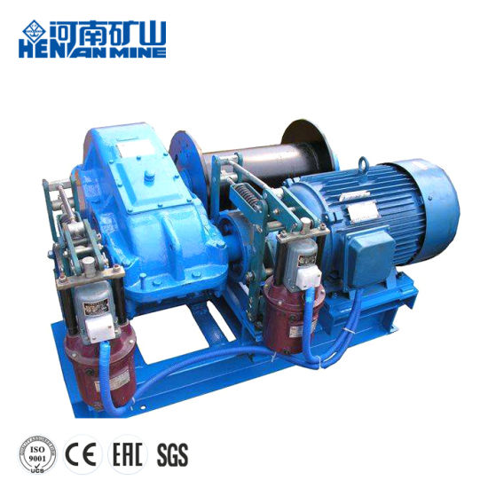 Henan Mine High Speed Electric Wirerope Winch