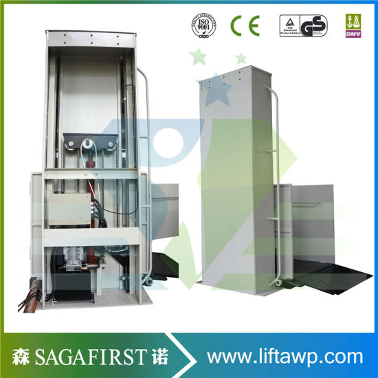 2.5m Hydraulic Vertical Domestic Disable Lift Platform pictures & photos
