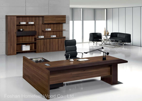 china modern wooden office furniture office executive table hf