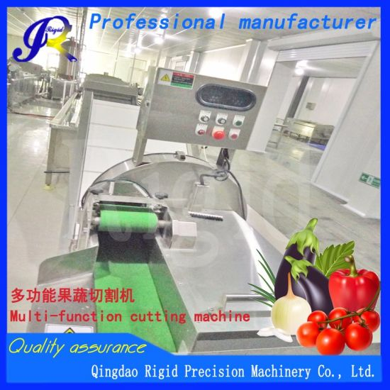 High Quality Vegetable Cutter Automatic Fruit Slicer (slice, shred, dice, fillet) pictures & photos
