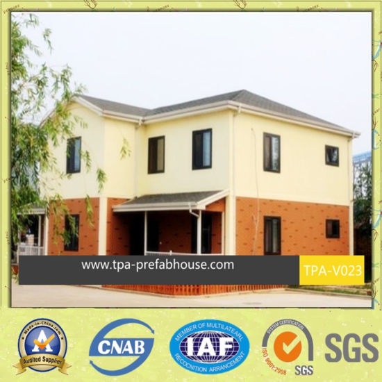 2 Storey Prefabricated Building for Big Family pictures & photos
