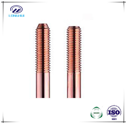 Copper Bonded Steel Threaded Earth Rod Compliance with IEC62561