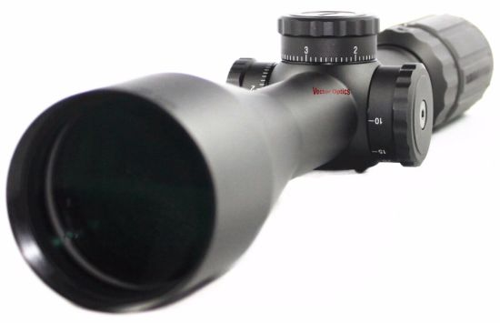 Vector Optics Sentinel 6-24X50 E Tactical Rifle Scope with MP Reticle Long Range Target Sight for Prairie Dog pictures & photos