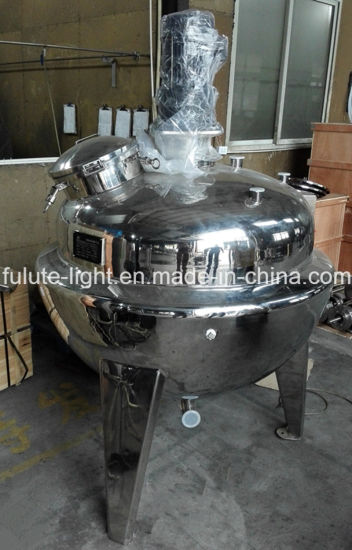 Stainless Steel Gas Heating Jacketed Kettle