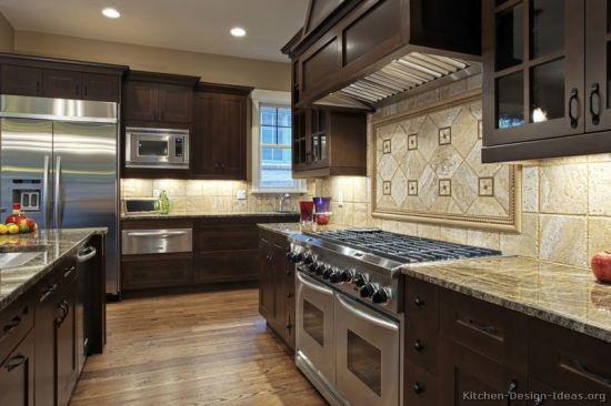 Dark Espresso Kitchen Cabinets De20