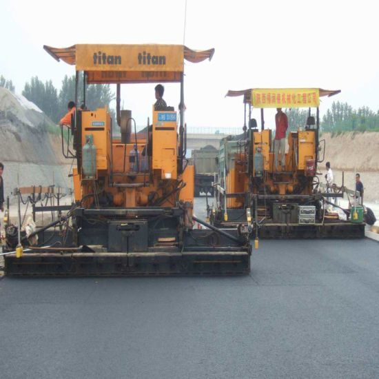 Volvo Asphalt Paver Undercarriage Track Shoes Rubber Pad pictures & photos