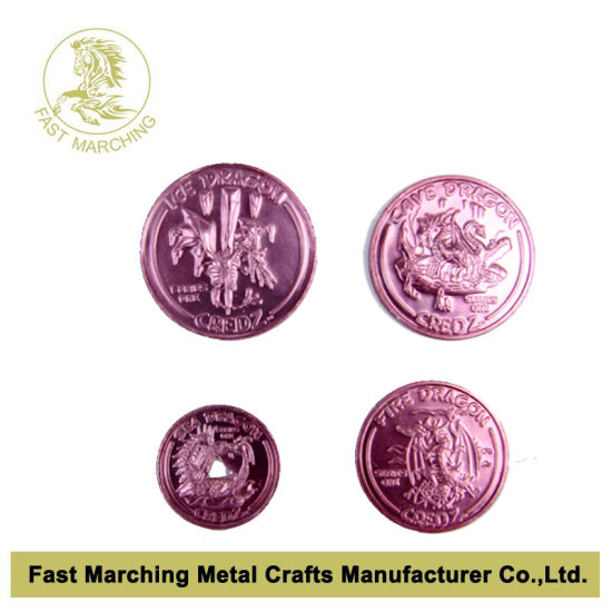 Custom Trolley Token, Aluminum Coin with Competitive Price