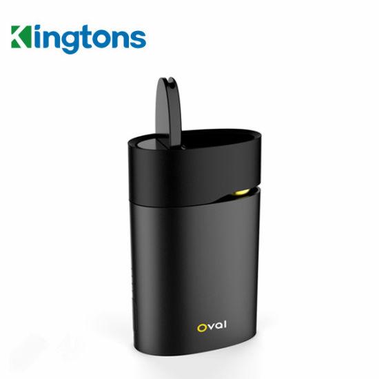 Wholesale E Cigarette Shop Kingtons Patented Vape Oval Dry Herb Vaporizer