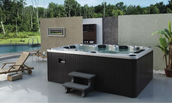 Outdoor 6 Seat USA Balboa SPA Whirlpool Hot Tub with TV, WiFi for Jacuzzi Function pictures & photos