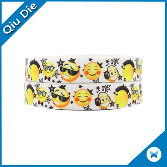 Double Faced Custom Printed Minion Grosgrain Ribbon pictures & photos